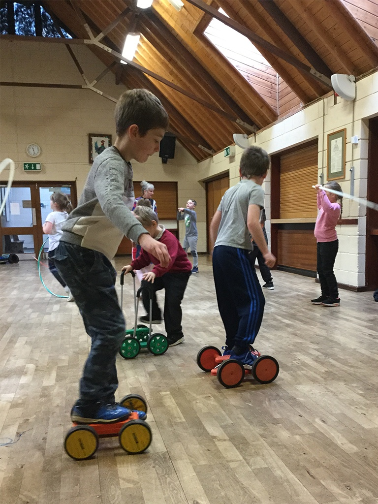 Oak Circus Skills Workshop
