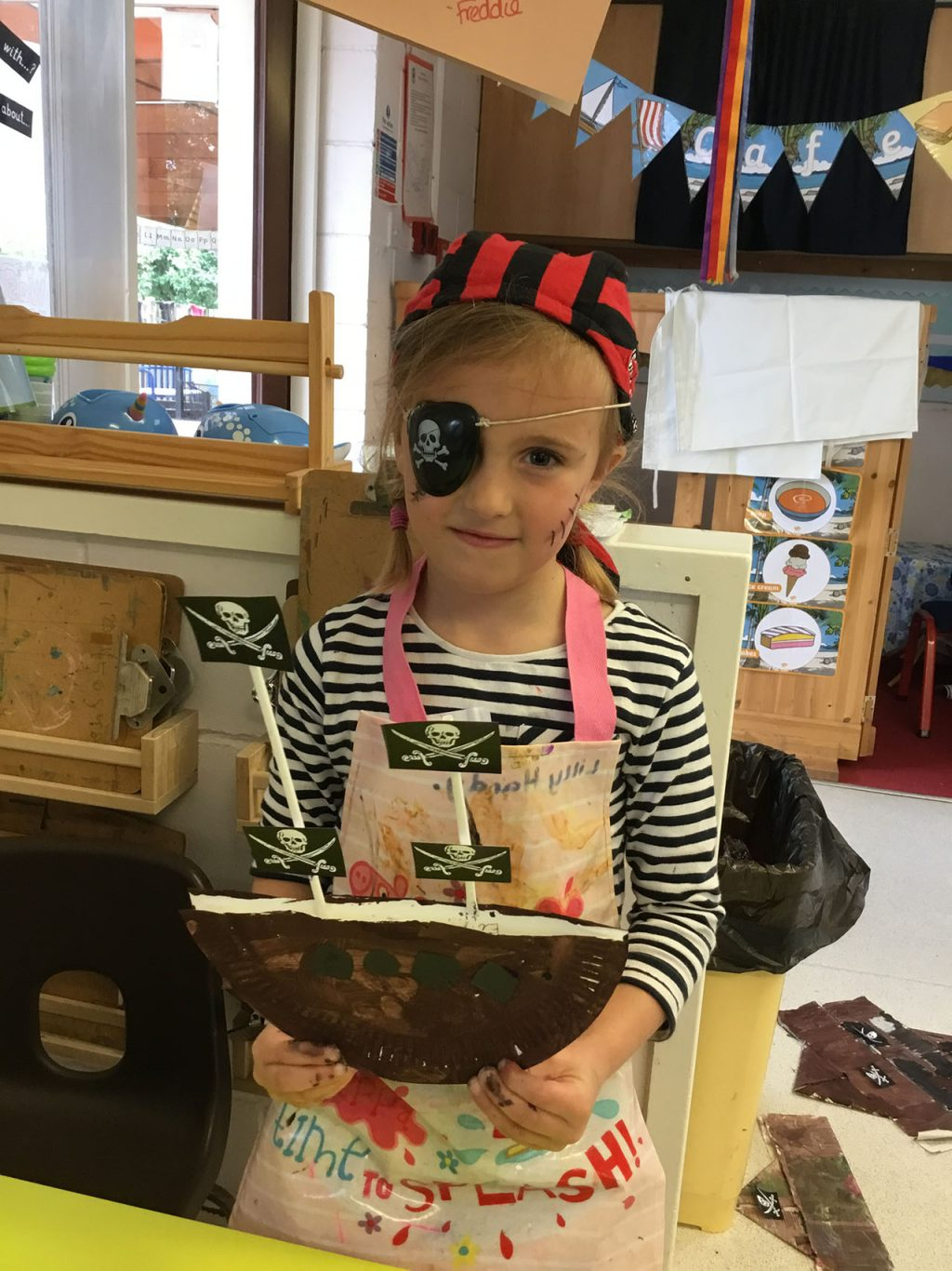 Lime Class Pirate Day 2021